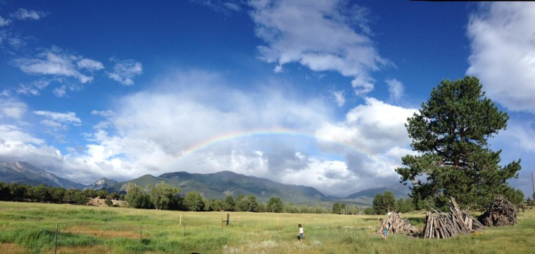 rainbows and children